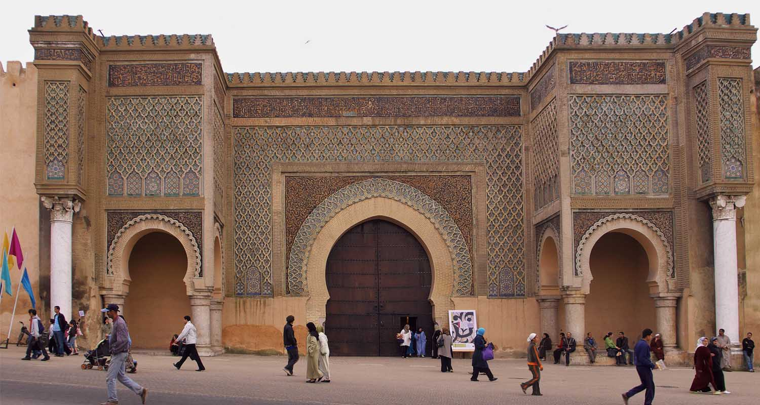 Au programme excursion Fes Meknes avec guide