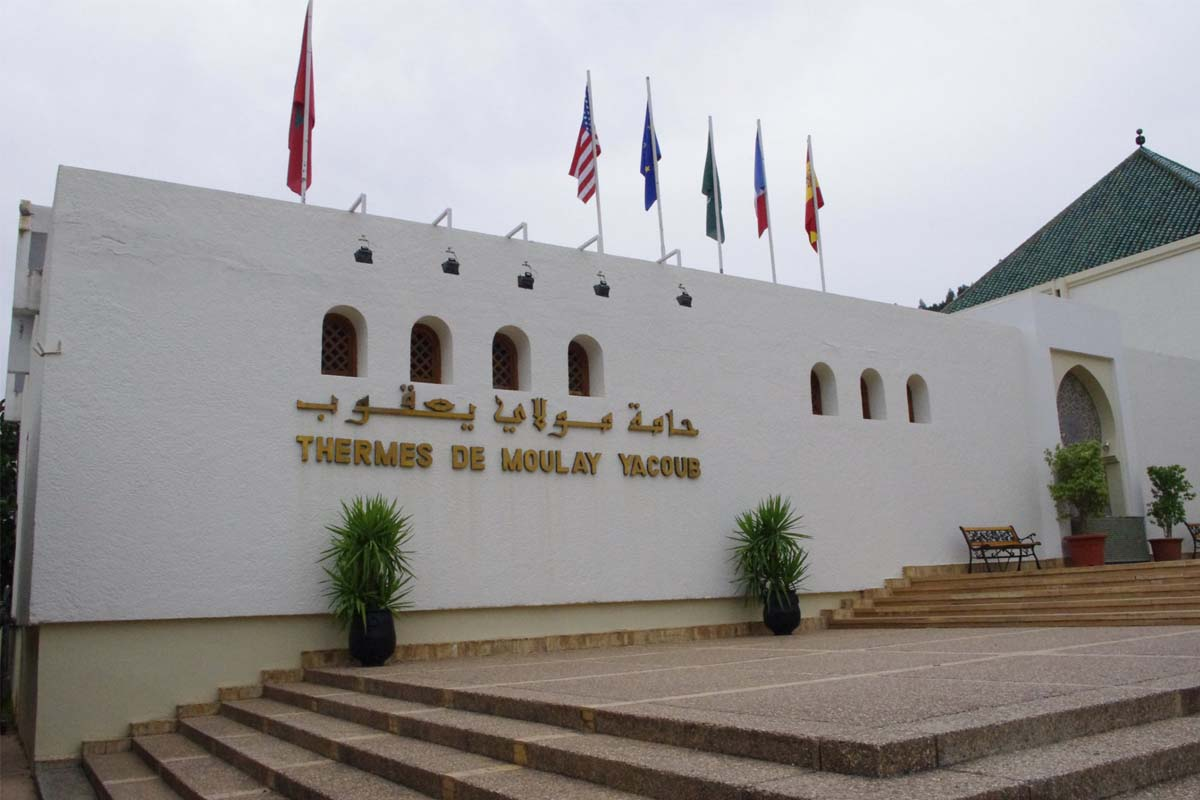thermes de Moulay Yacoub