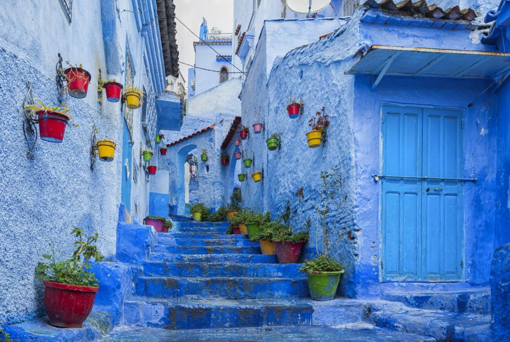 Chefchaouen le Village Bleu au Maroc